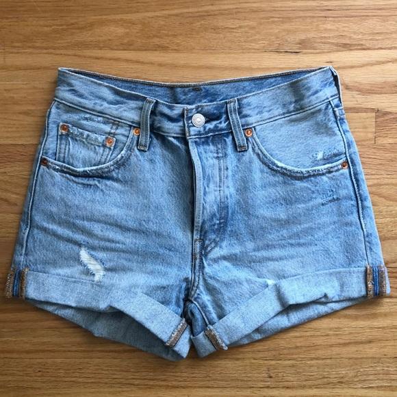 f1ef1d5f55 Levi's Shorts | Levis 501 Highrise Denim | Poshmark